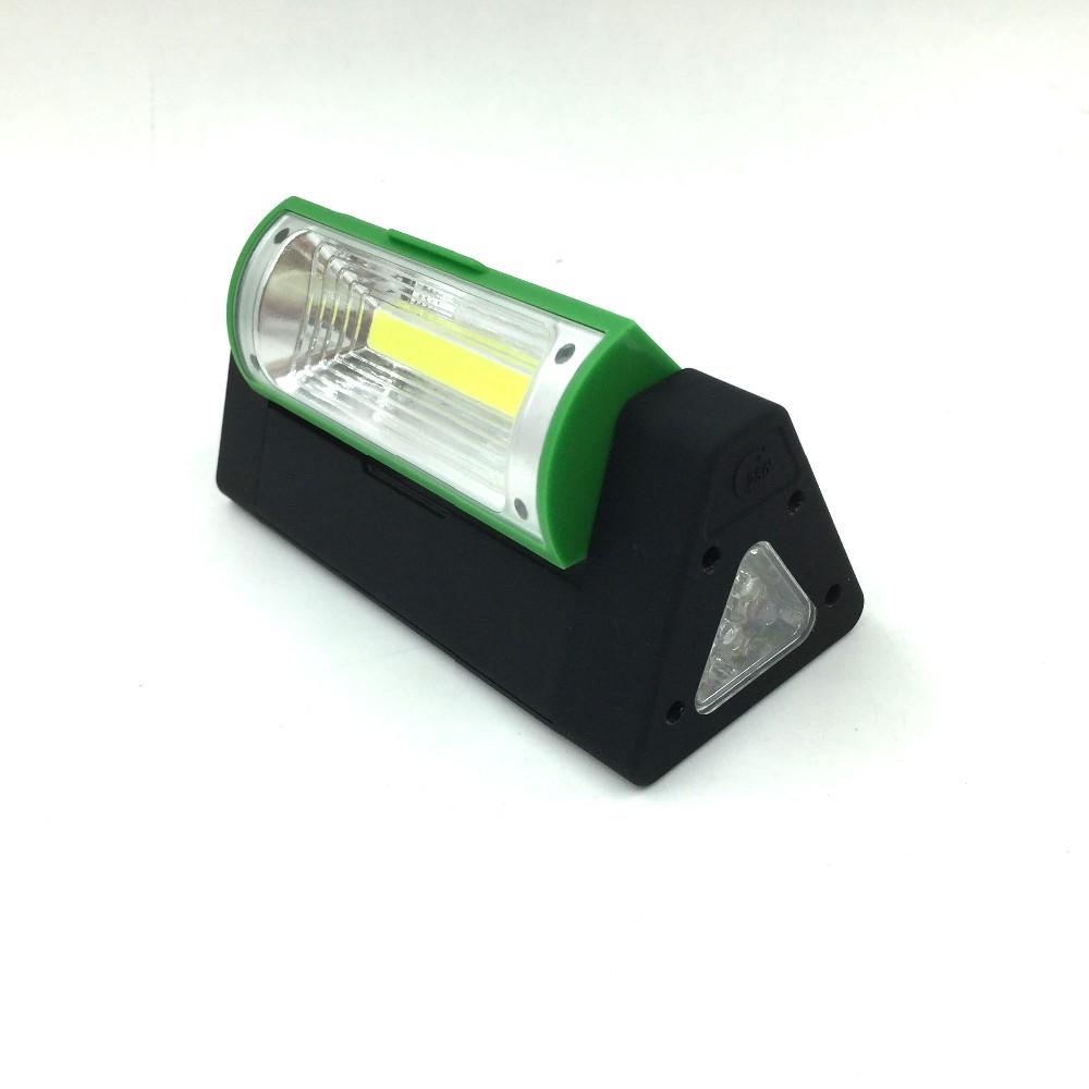Triangle COB LED Flashlight Magnetic Hanging Light Car Repair Work Light Unique Book Light