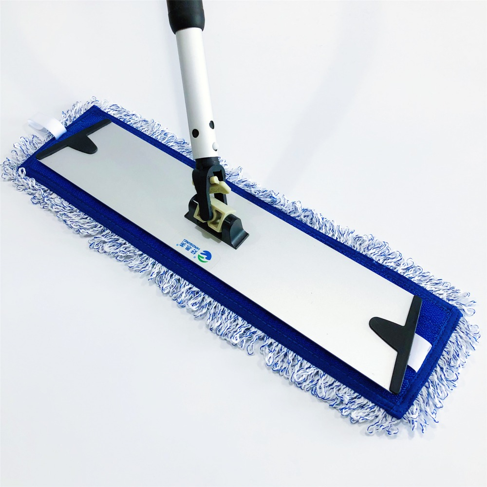 Neues Design Polyester Reinigungstuch Industrieller Mop Blue Magic Floor Mop