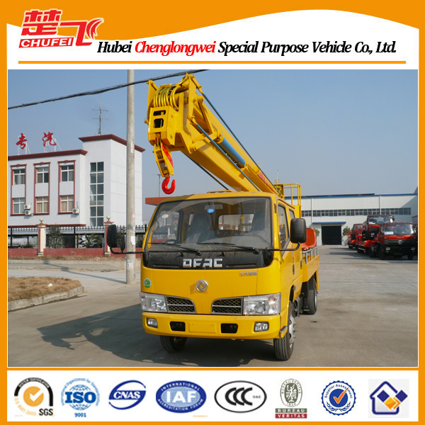 Dongfeng 4x2 16m high altitude operation bucket truck