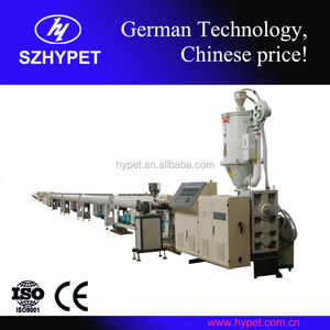 High output German tech 20-110mm PE pipe production line polymer extrusion line