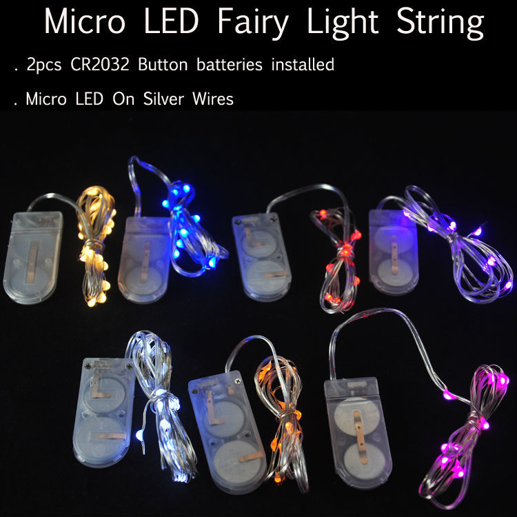 Outdoor Garden Flower Christmas Tree Balloons Lighting Battery Operated Led Fairy String Lights Silver Coated Copper Wires Buy Battery Led String