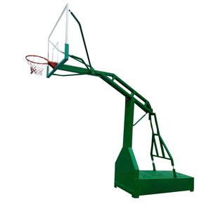 Best home school park silverback adjustable height professional portable in-ground basketball system