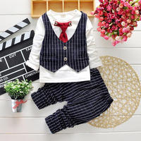 2018 Baby 4 Pieces Waistcoat Suit Wedding formal Outfit clothes for boys