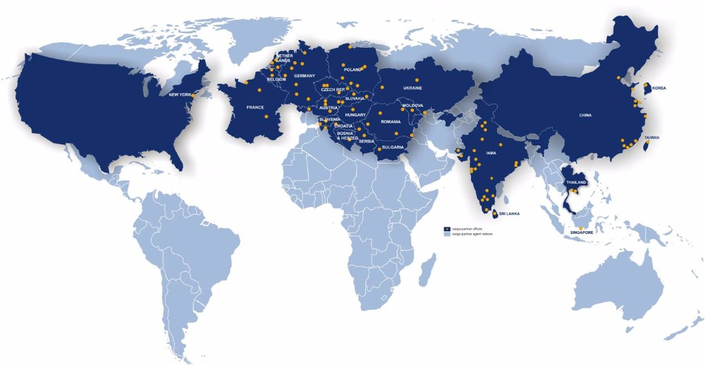 Cheap Cargo Express Courier Service China To Usaukaustralia - Map asia us uk australia