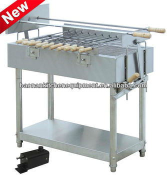 Edelstahl Kommerzielle Holzkohle-grill/küche Bbq Grill (eb-w04) - Buy  Kommerziellen Rotary Grill,Kommerziellen Holzkohle Bbq  Grillgrill,Rechteckigen ...