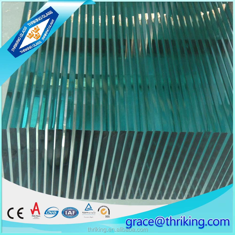 High quality 2-19mm clear tempered float glass specification with CE certification