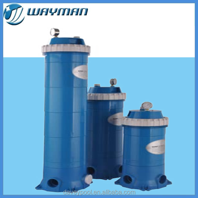 Davey high performance cartridge filter for swimming pool