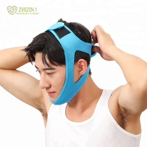 ZHIZIN adjustable stop anti-snoring anti snoring chin strap vents