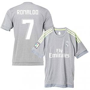 premium selection 43c6e 3e160 Real Madrid Away Ronaldo Kids #7 Soccer Kit Jersey and Shorts All Youth  Sizes