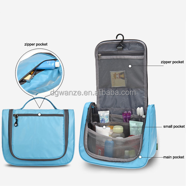 Household Essentials Hanging Cosmetic Travel Bag Organizer