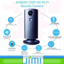 Factory Manufacturer support OEM two way audio and motion detection P2PN IP Wireless mini video camera