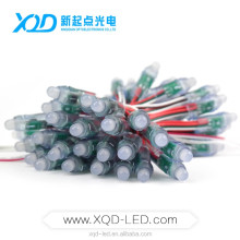 Round size light for dmx project use 12v ws2811 pixel node 50pcs a string