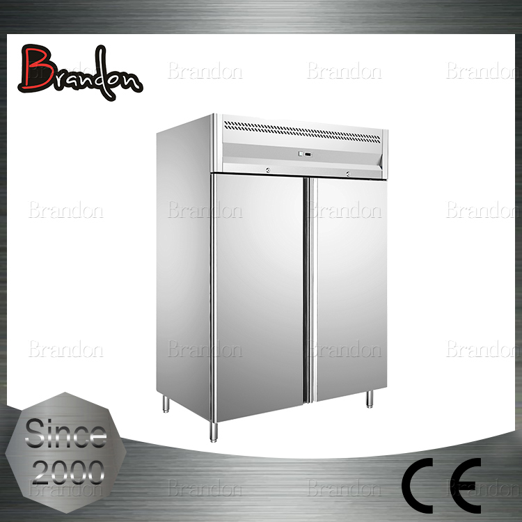 Brandon double door not used refrigerator with compressor from Germany