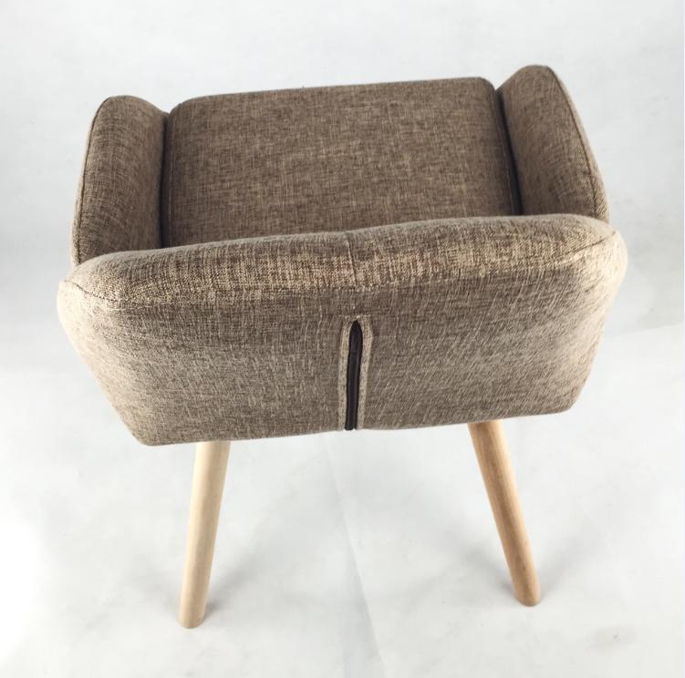 Modern Chairs For Cheap: Modern Appearance Cheap Living Chair Wooden Short Legged