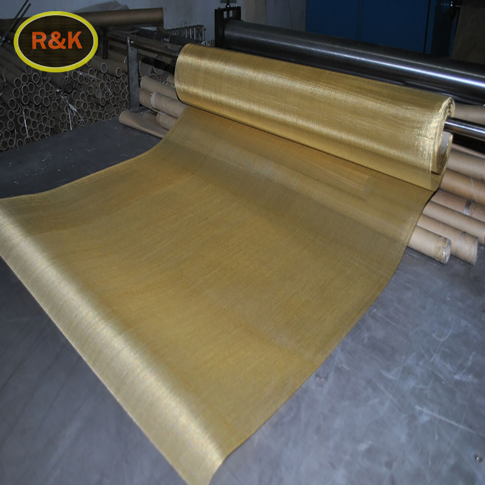 Wire form brass and copper modeling mesh
