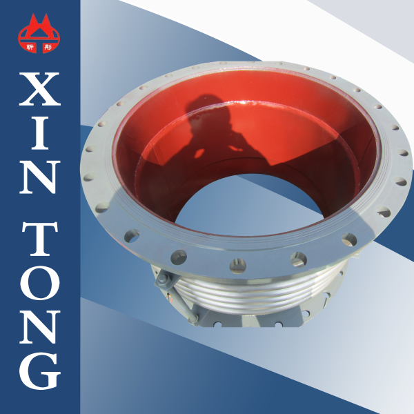 Flexible corrugated stainless steel bellows expansion joint fitting