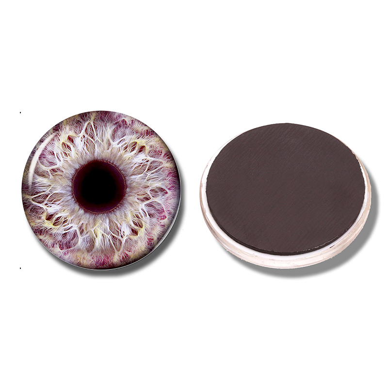 Frost Dragon Eye 30 MM Fridge Magnet New Dragon Geek Glass Cabochon Note  Holder Magnetic Refrigerator Stickers Home Decor Access