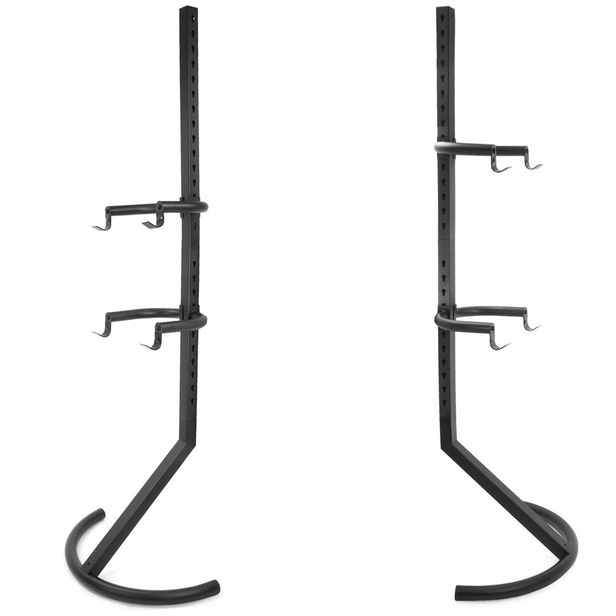 allgoodsdelight365 Gravity 2 Bike rack Stand Bicycle Rack Storage Or Display Holds Two Bicycles