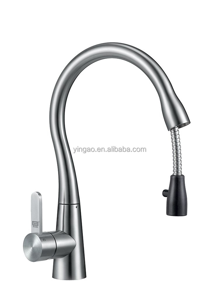 New design  Hot and Cold Water Supplied UPC CUPC brass kitchen faucet