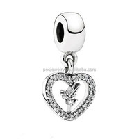 PES fine Jewelry! Brand New Love Tinker Bell Dangle Charm (PES919-93)