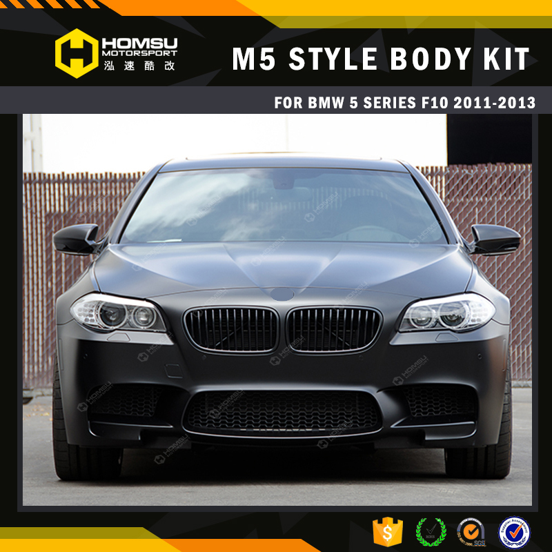 Car tuning parts for F10 changed to M5 Style Sport pp auto car bumper Body Kits For 5 Series 2014