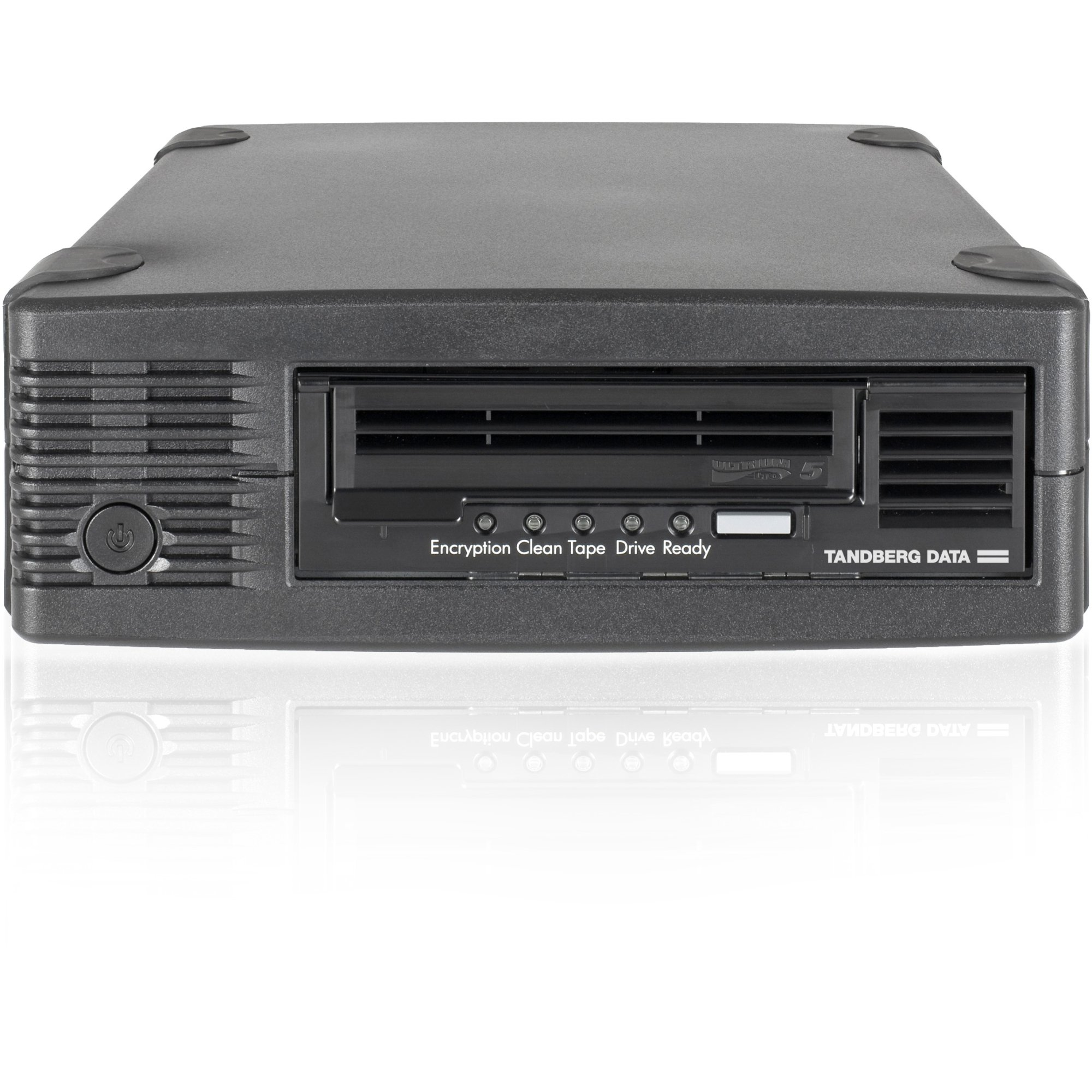 TANDBERG DATA 3520-LTO-KIT / LTO-5 HH Ext. Drive Kit /LTO-5 - 3 TB (Native)/1.50 TB (Compressed) - Black - 6Gb/s SAS1/2H Height - External - 140 MBps Native - 280 MBps Compressed - Encryption - WORM Support