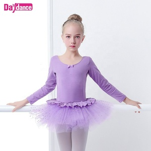 Baby Girls Dot Ballet Tutu Dress Dance Costumes