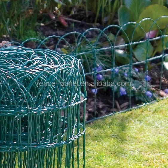 Ornamental Galvanized Garden Woven Wire Fence Buy Garden