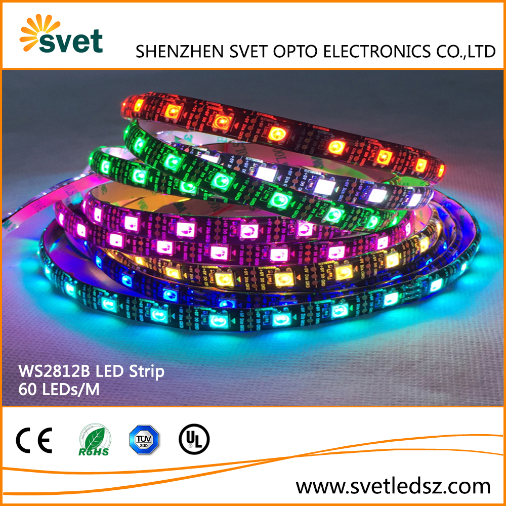 Christmas Outdoor Decorations WS2812B RGB LED Light Tape, LED Lights Strip