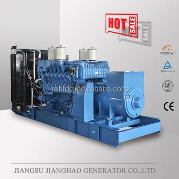 60hz 2500kw Germany Mtu Engine Electric Power Generator 2500kw Mtu Engine  Generator Set Price - Buy 2500kw Electric Power Generator,2500kw Generator