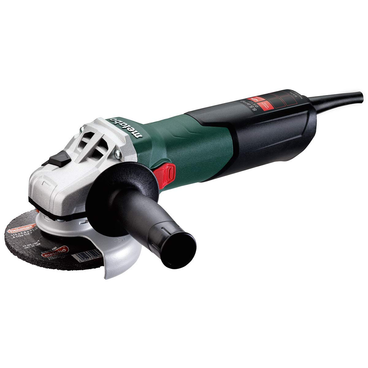 4-1/2 Inch Wheel Diameter, 10,500 RPM, Electric Angle and Disc Grinder