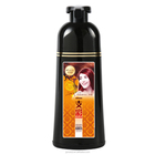 Natural herbal fast hair dye ginger color shampoo dye hair in 5 minutes magic brown hair color dying perment colourful dye cream