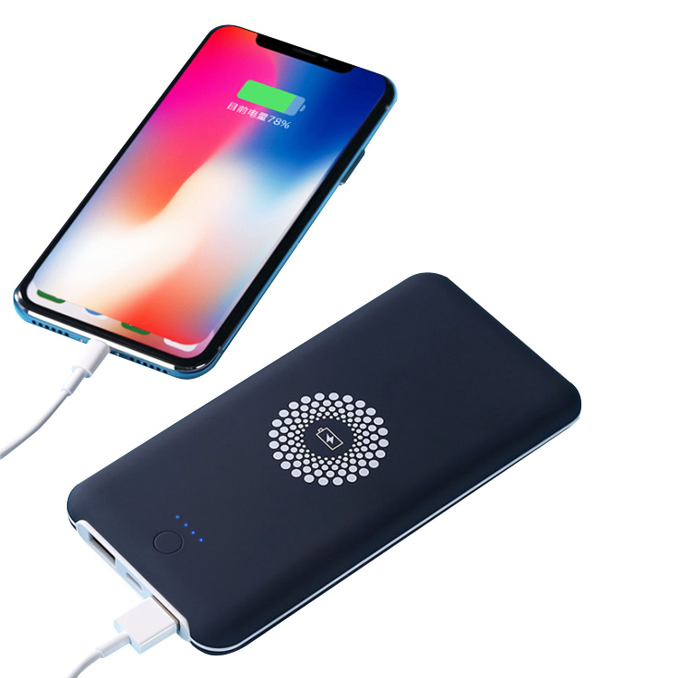 QI wireless battery charging pad