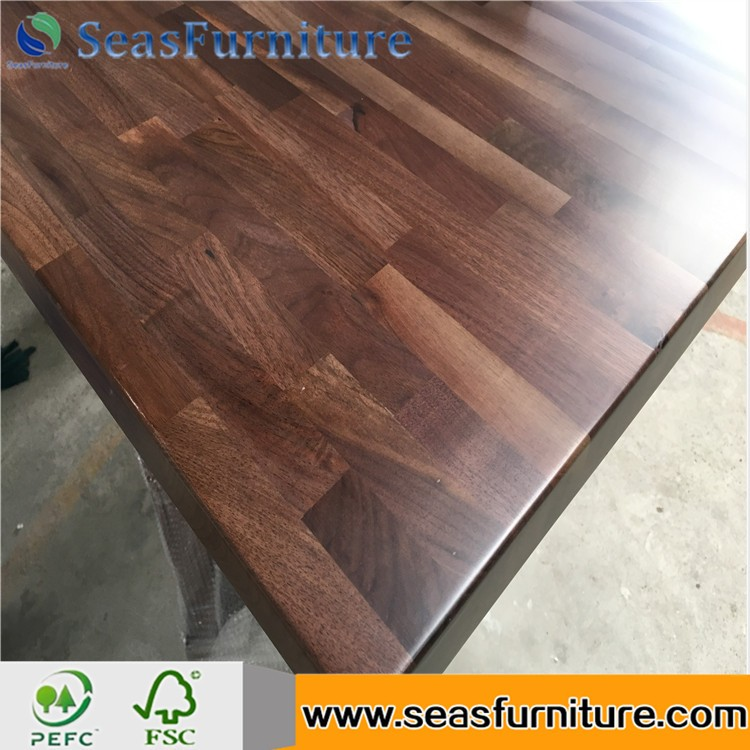 High Quality Solid Ash Worktops/Countertops Rustic Tabletop