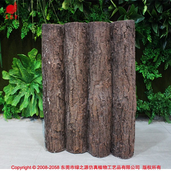 Fake Pine Tree Trunk Artificial Wood Log Buy Artificial