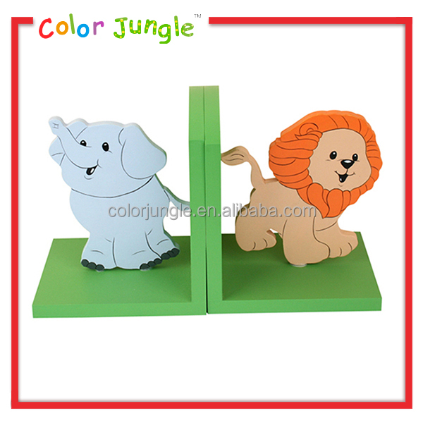 Factory directly wholesale letter bookends, hot sale elephant bookends