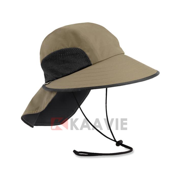 Source Neck Flap Boonie Hat Fishing Hiking Safari Outdoor Sun Brim ... dbc3c994d662