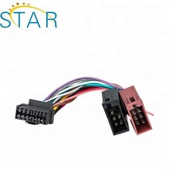 sony car audio wire harness wiring diagramiso car audio wire harness for sony 16 pin into radio harness sksy16