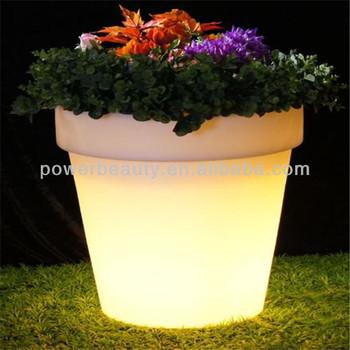 225 & Modern Decorative Illuminated Plastic Waterproof Led Cheap Extra Large Garden Light Flower Pots - Buy Large Chinese Garden PotsIlluminated Garden Led ...
