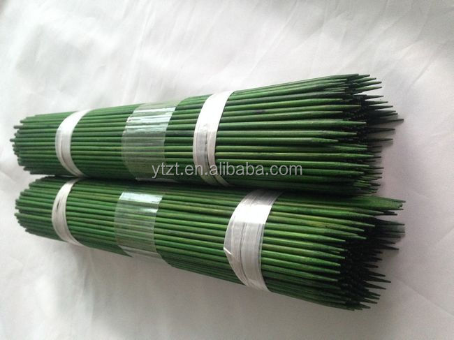 Green Raw Material Thin Round Plastic Covered Plant