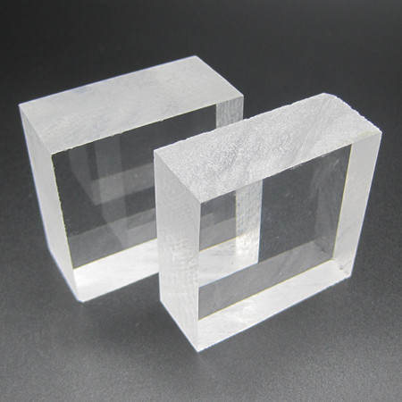 100 Virgin Material Pmma Clear Plastic Blocks For
