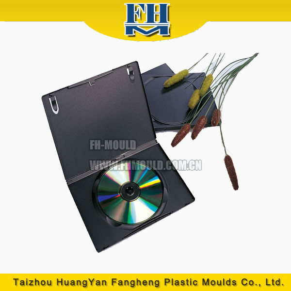14mm / 7mm DVD case for automatic machine injection mould