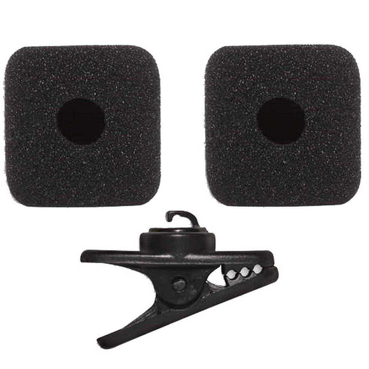 Shure RK377   Replacement Clip 2 Foam Windscreens for PGA31 Headset Microphone