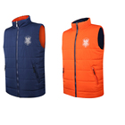Outer Wear Sports Vest Mans Quilted Reversible Vest Mens Sports Puffy Vest Winter Padded Vest