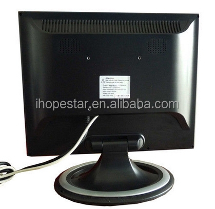1024x768 resolution square screen 14 inch Camera CCTV LCD Monitor ,14inch BNC monitor, screen surveillance