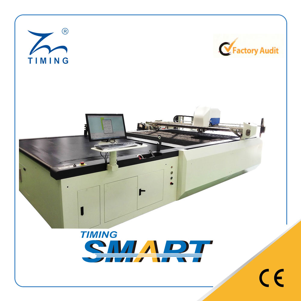 TMCC-1725 cnc industrial textile cutting machine garment unit production system