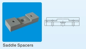AS/NZS 2053 PVC Saddle Spacers Plastic Spacer