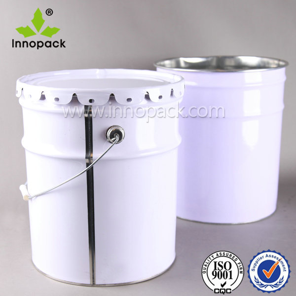 Industrial Packaging 5 Gallon/20l Metal Tinplate Bucket Paint Pail ...