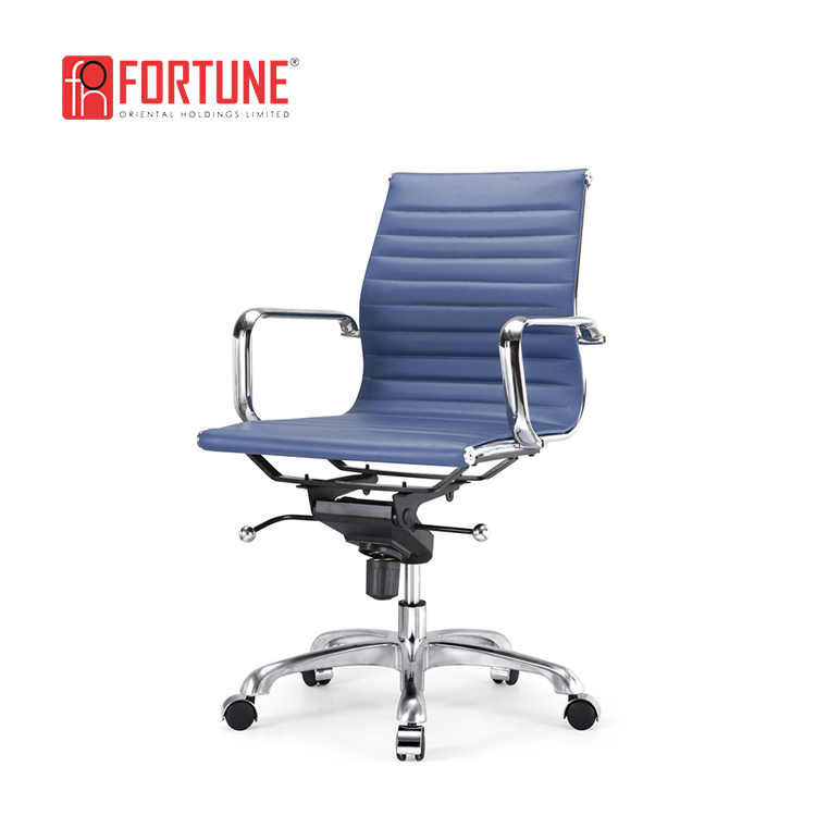 Italy Leather Office Chair, Imported Leather Designer Chair, office chair (FOH-MF11-A06)