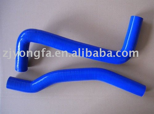 high performance Toyota Celica GT4 ST205 2pcs Silicone Radiator Hose
